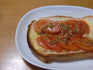 トマトのせ