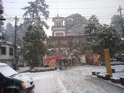 尾山神社(雪)