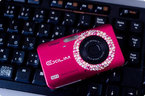 セルポアのデコデジカメラ