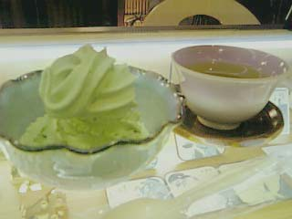 山本山 抹茶ソフトクリーム