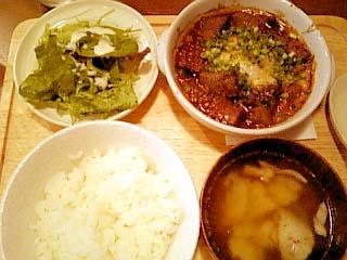 KEN's table 牛スジ煮込みランチ