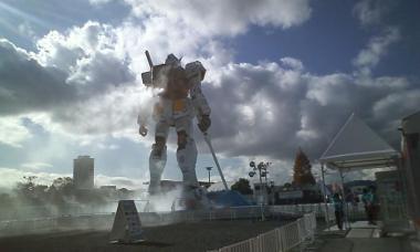ガンダム 静岡 オフィシャルショップ20101207