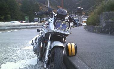 GSX750S道の駅宇津ノ谷