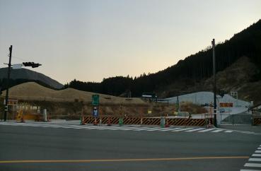 新東名(第ニ東名)新清水ICインターチェンジ 国道52号線 宍原