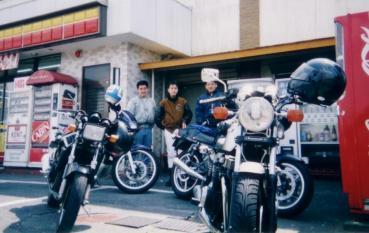 カワサキ FX400R KLE400 ゼファー400 Z400FX (仮名)松風閣ツーリング倶楽部