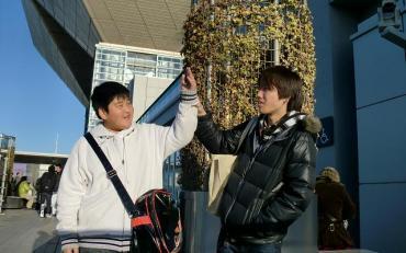コミックマーケット(コミケット)81  静岡中央新聞の同僚弟君