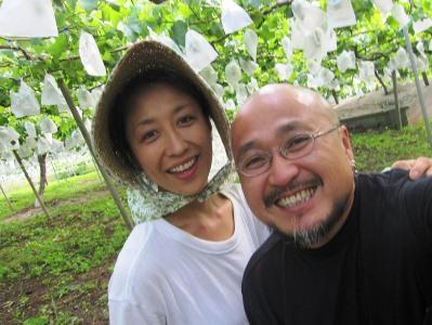 2011年7月2日菱山ぶどう畑ヨガ (24)