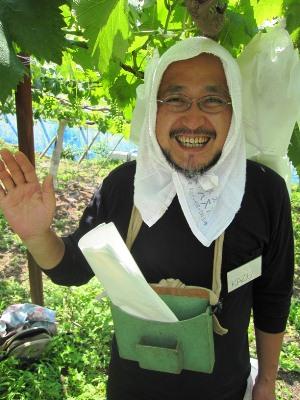 2011年7月2日菱山ぶどう畑ヨガ (19)