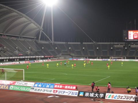 2013_3_10ロアッソ熊本観戦1