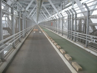 因島大橋は2階建
