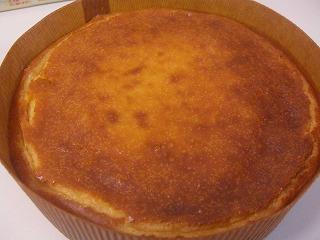 チーズケーキ円形