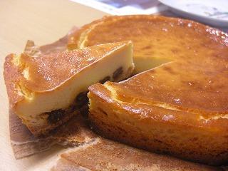 チーズケーキ円形2