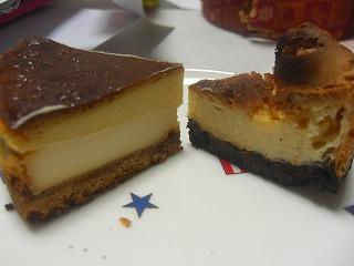 オレオベークドチーズメレンゲ入りと6Pチーズベークド1