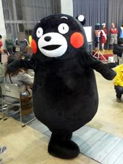 「くまもとサプライズ」キャンペーンのくまモン☆
