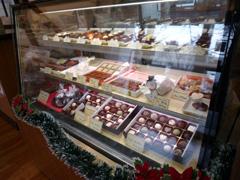 健軍のロビンソンチョコレートショップの限定チョコ・雪だるさん♪