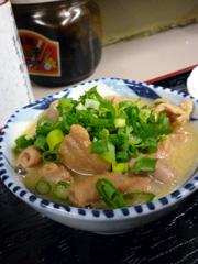 南熊本の天大食堂でTHE定食な晩ごはん。