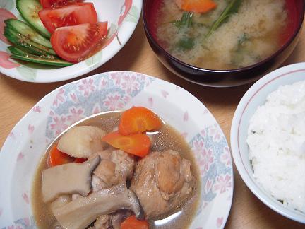 鶏手羽元炒め煮