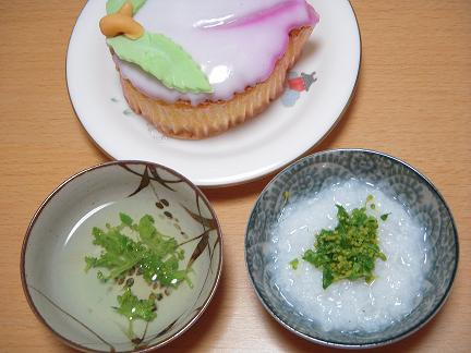 離乳食菜の花セット