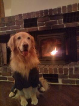 暖炉です♪
