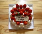 25歳亀ちゃんケーキ