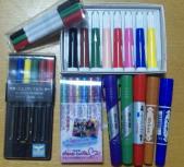 ありったけの色ペン