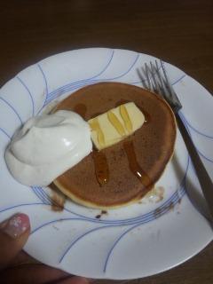 ホットケーキホイップはちみつバター