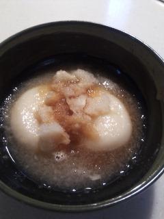 おもちおろしポン酢
