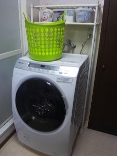 ドラム式洗濯機①