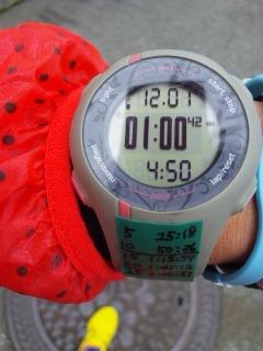 篠山に向けて12キロ
