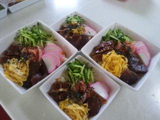 ちらし寿司×4