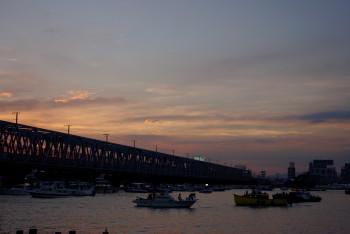 淀川夕景2