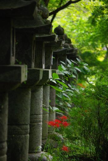 段山神社灯篭