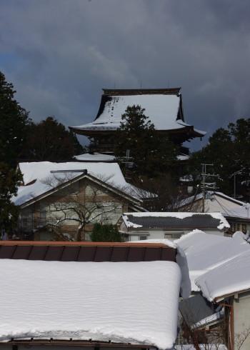金峯山寺遠景
