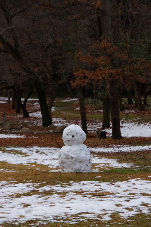 明日香 甘樫雪だるま