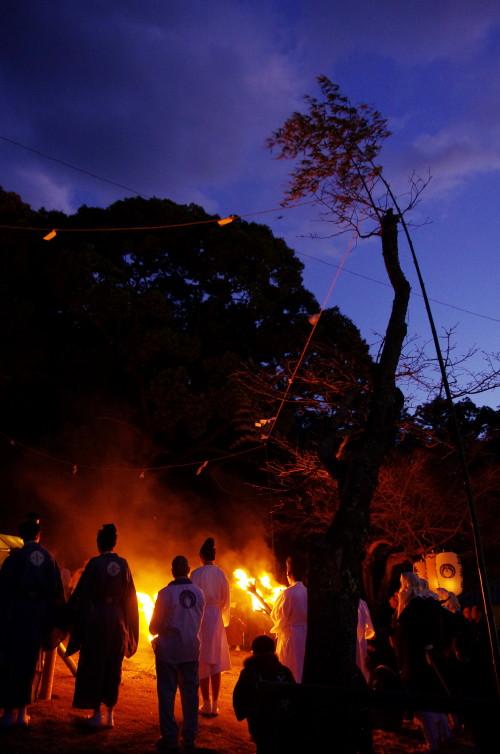 山焼き 祭典