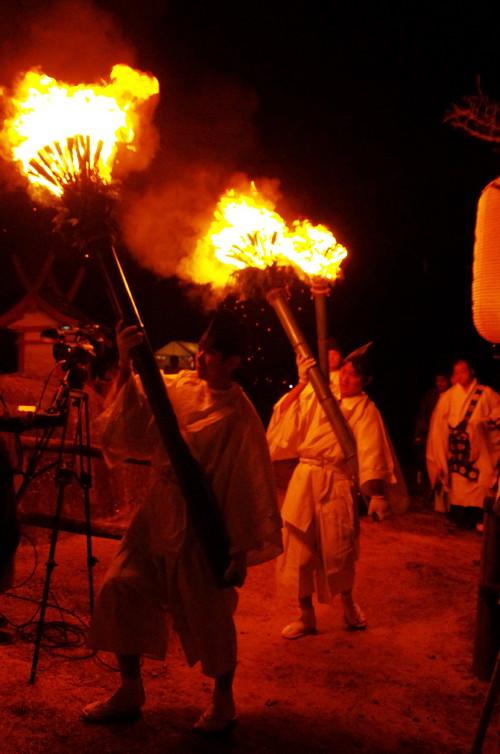 山焼き 祭典 大松明