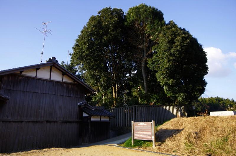 吉備姫王墓 全景