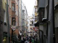 インスブルクの街