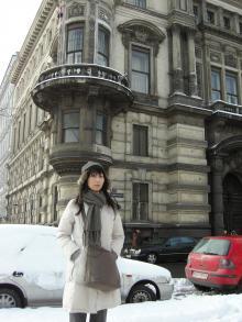 ウィーン市立公園の前