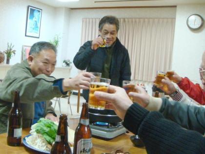 2011銀嶺会一泊オジロ・スキー行 大平山荘