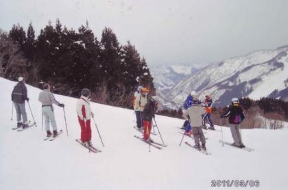 銀嶺会スキー2011