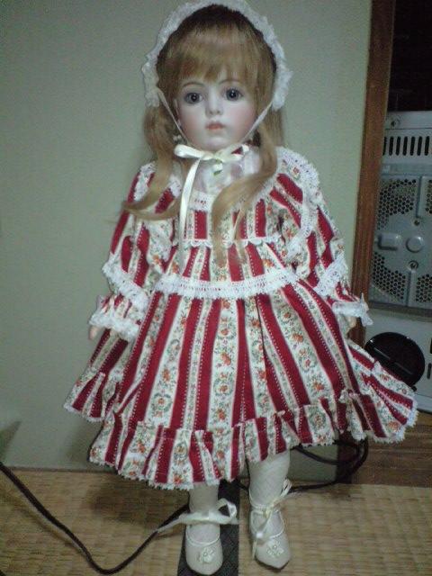 赤いドレス1