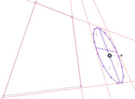 4.5.0アップデート・分離した楕円定規の制御点変形