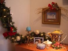 2010クリスマス棚