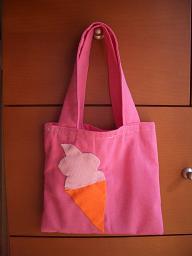 娘の手作りバッグ