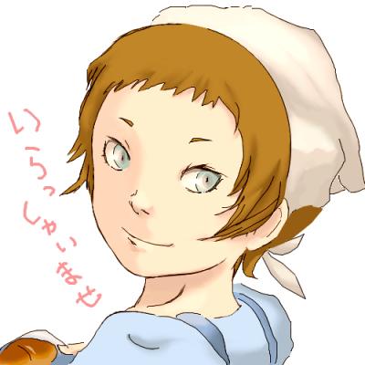 パンもこの子も焼きたてですw