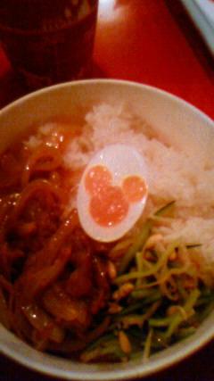 焼き肉ナムル丼