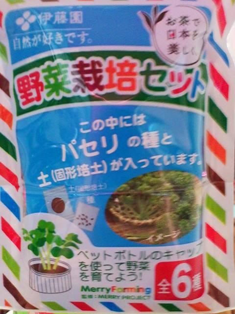 伊藤園「お~いお茶」の「野菜栽培セット」