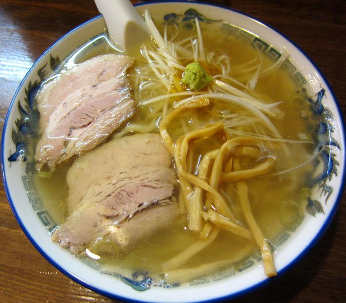 山葵塩ラーメン1