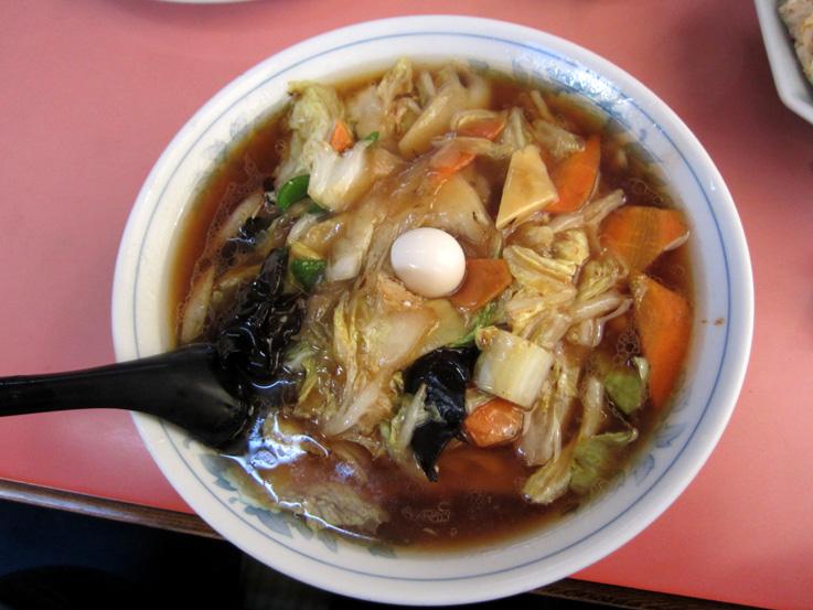 菜華軒広東麺